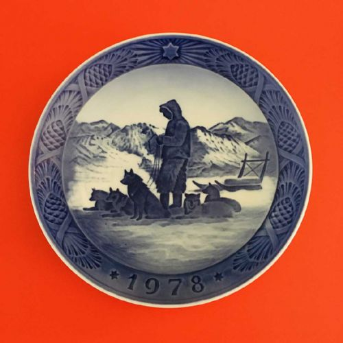 Royal Copenhagen - Collector - Christmas Plate - 1978